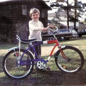Brian Biggs's First Bike