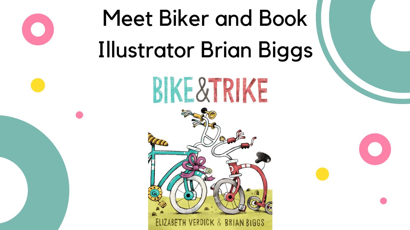 Meet Biker and Book Illustrator Brian Biggs - placard